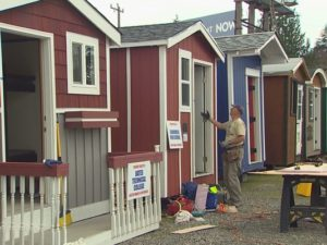 tiny houses homeless