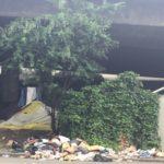 homeless garbage