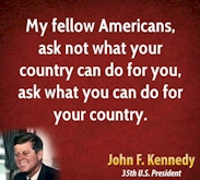 do for country jfk