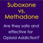 suboxone methadone
